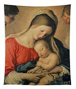 The Sleeping Christ Child Tapestry
