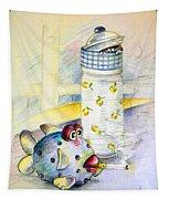 The Smoking Fish Tapestry