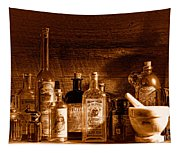 The Snake Oil Shop - Sepia Tapestry