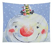 The Snowman's Head Tapestry