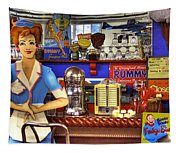 The Soda Fountain Tapestry