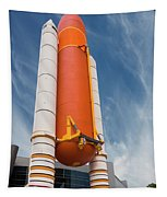 The Space Shuttle Launch System Tapestry by Jim Thompson