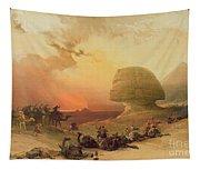 The Sphinx At Giza Tapestry