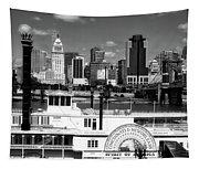 The Spirit Of America And Cincinnati  Tapestry
