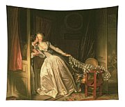 The Stolen Kiss Tapestry
