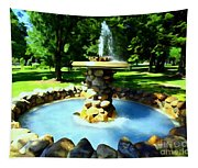 The Stone Fountain Tapestry