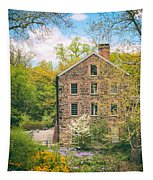 The Stone Mill In Spring Tapestry