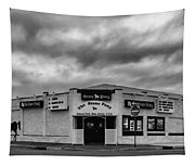 The Stone Pony Asbury Park New Jersey Black And White Tapestry