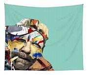 The Street Artist Tapestry