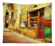 The Street  -- Original Painting Tapestry