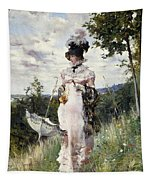 The Summer Stroll Tapestry