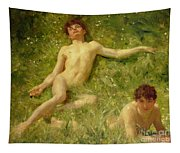 The Sunbathers Tapestry