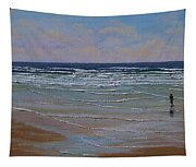The Surf Walker Tapestry