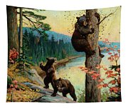 The Surprise Party Tapestry