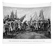 The Surrender Of Cornwallis At Yorktown Tapestry