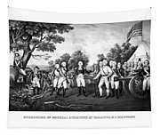 The Surrender Of General Burgoyne Tapestry