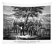 The Surrender Of General Lee  Tapestry