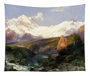 The Teton Range, 1897 Tapestry