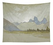 The Tetons, Idaho, 1879 Tapestry