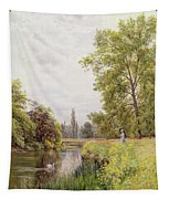 The Thames At Purley Tapestry