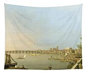 The Thames From The Terrace Of Somerset House Tapestry