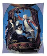 The Three Favorite Air Travelers Tapestry