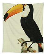 The Toco Toco Toucan  Ramphastos Toco Tapestry