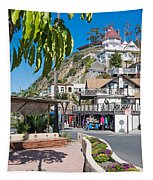 The Town Of Avalon Tapestry