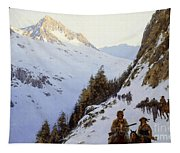 The Trail Over The Pass, 1910 Tapestry