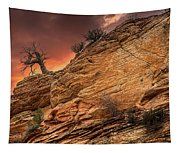 The Tree Of Zion Tapestry