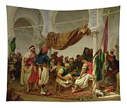 The Turkish Cafe Tapestry