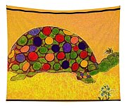 The Turtle In Lighter Colors Tapestry