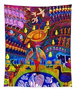 The Twelve Days Of Christmas Tapestry
