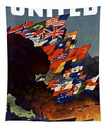 The United Nations Fight For Freedom Tapestry