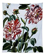 The Variegated Rose Of England Tapestry
