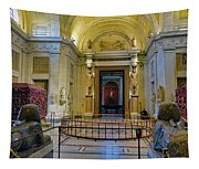 The Vatican Museum In The Vatican City Tapestry