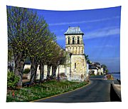 The Village Of Le Thoureil Tapestry