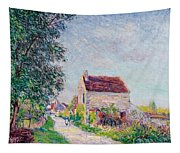 The Village Of Sablons Tapestry