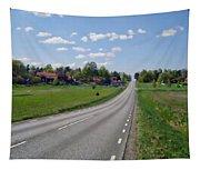 The Village Of Stjarna Tapestry