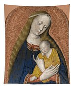The Vrigin And Child Tapestry