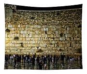 The Wailing Wall - Jerusalem  Tapestry