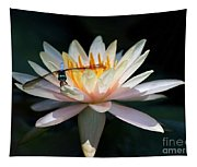 The Water Lily And The Dragonfly Tapestry