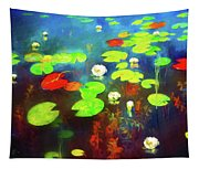 The Water Lily Pond Tapestry