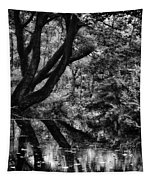 The Water Margins - Monochrome  Tapestry