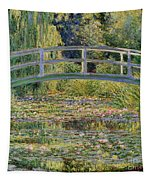 The Waterlily Pond With The Japanese Bridge Tapestry