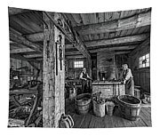 The Way We Were - The Blacksmith 2 Bw Tapestry