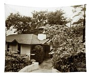 The Wedding Chapel Carmel  Highlands Inn Circa 1968 Tapestry