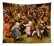 The Wedding Dance Tapestry