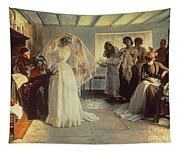 The Wedding Morning Tapestry