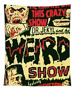 The Weird Show Poster Tapestry